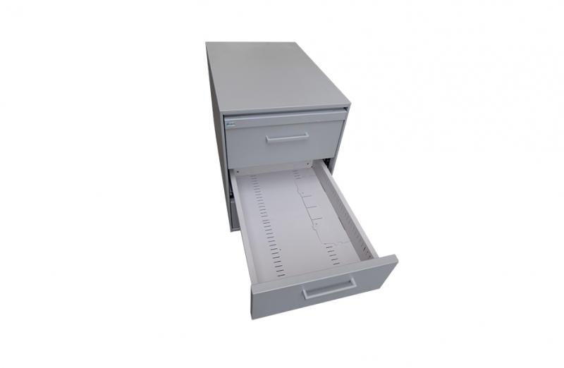 Cassettiera LISTA 3 cassetti + 1