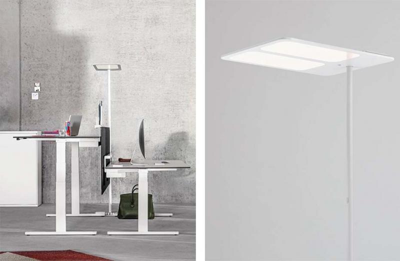 Lampada a stelo Tobias Grau mod. XT-S FLOOR ONE CH C BASE white