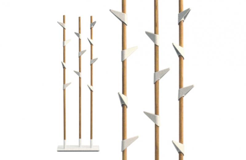 CASCANDO Porta abiti Bamboo