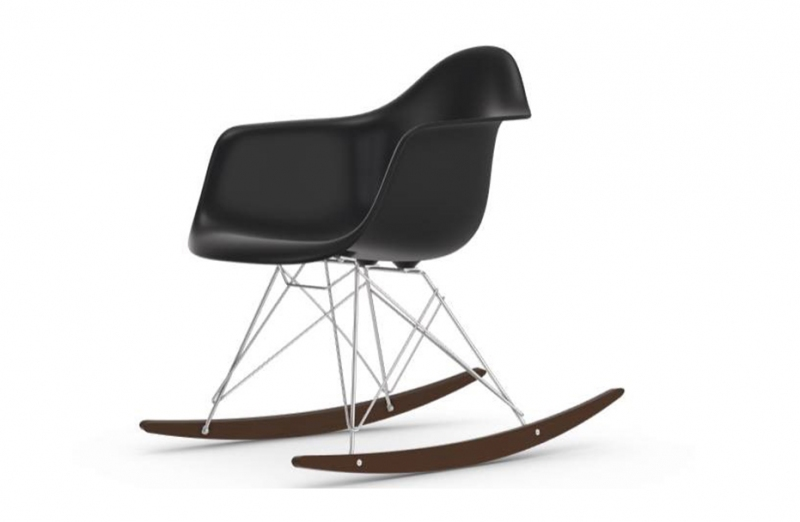 Sedia a dondolo VITRA Eames Plastic Chair RAR