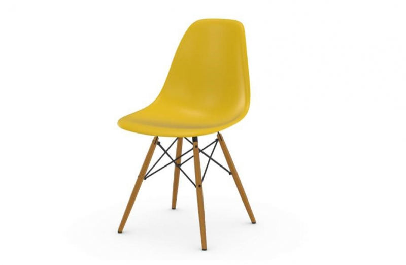Sedia VITRA modello EAMES PLASTIC SIDE CHAIR DSW