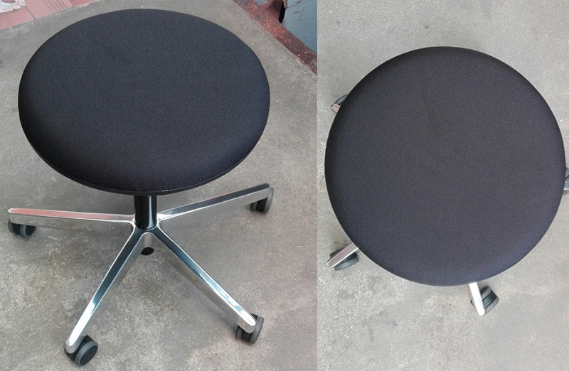 Sgabello con rotelle stoll giroflex 33 mobili online lugano